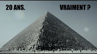 20 ans pour construire la grande pyramide. Vraiment ?
