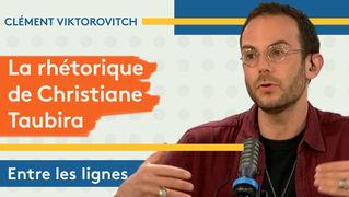 Clément Viktorovitch : la rhétorique de Christiane Taubira