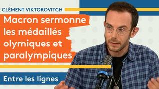 Clément Viktorovitch : Le discours d'Emmanuel Macron aux sportifs français médaillés à Tokyo