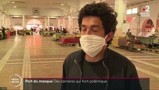 France2 : des caméras surveillant le port du masque à Cannes et à Paris