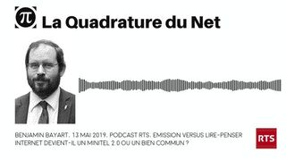 Avec Benjamin Bayart : Internet devient-il un Minitel 2.0 ou un bien commun ? [RTS]