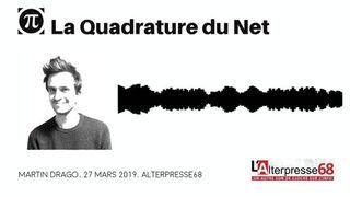 """Directive """"droits d'auteurs"""", entretien avec Martin Drago par Luc Ueberschlag et Jeanne Roy [Alterpresse68]"""