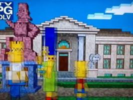 The Simpsons Minecraft Intro (Couch Gag)