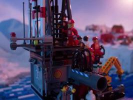 Greenpeace Lego Shell