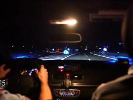 Course poursuite à 170 km/h sur l'A13 avec la police
