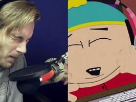 PewDiePie dans South Park (S18E09)