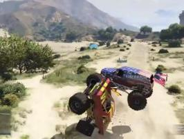 GTA V Monster Truck Judo