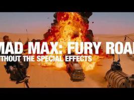 Mad Max Fury Road sans effets spéciaux
