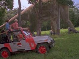 Parodie : Jurassic Park en talons aiguilles