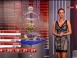 Un numéro s'affiche avant son tirage à la loterie