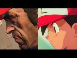 Le générique de Pokémon version GTA 5 (comparaison)