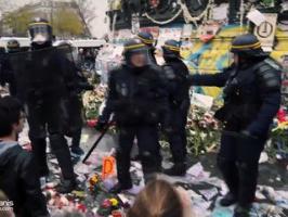 Violences policières à la manifestation pour le climat