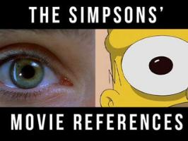 The Simpsons movie references