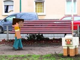 Minecraft Is Just Everywhere : Minecraft imaginé dans la vraie vie