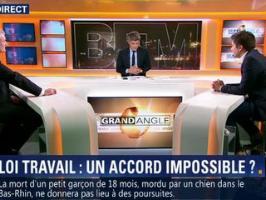 Un présentateur de BFMTV reçoit un SMS du cabinet de Manuel Valls